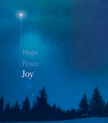 Picture of Joy Star Advent Bulletin, Large (Pkg of 50)