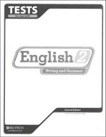 English 2 Tests 2nd Edition