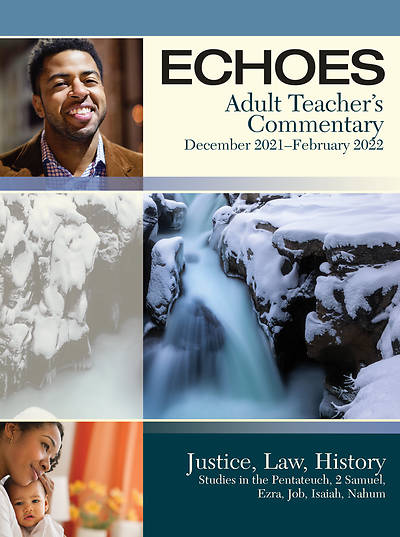 Echoes Adult Teacher Commentary Winter