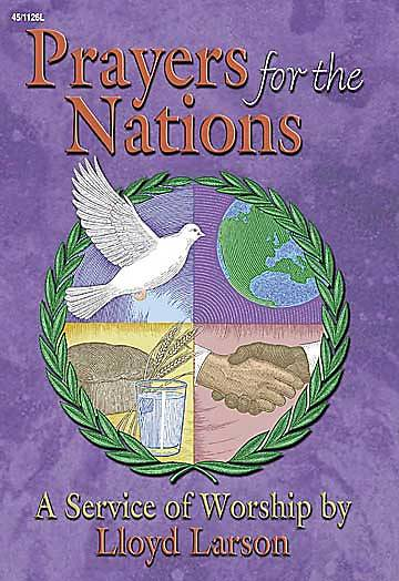 Prayers for the Nations Choral Book
