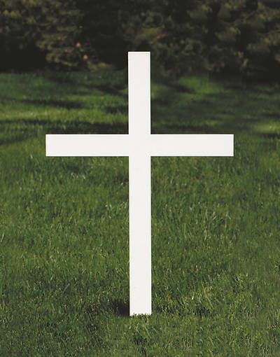 Picture of Koleys K4055 Standard Outdoor Memorial Cross