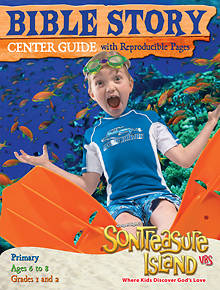 Gospel Light VBS 2014 SonTreasure Island Bible Story Center Guide Primary