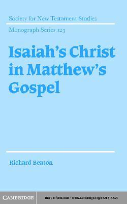 Isaiahs Christ in Matthews Gospel [Adobe Ebook]