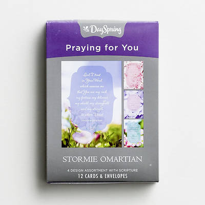 Picture of Stormie Omartin - Praying For You Boxed Cards Assorted  (Box 12)