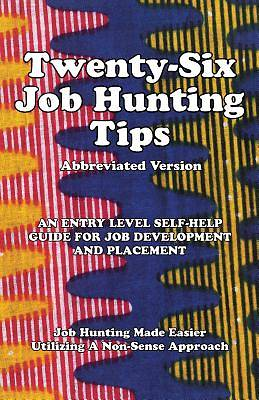 Picture of Twenty-Six Job Hunting Tips