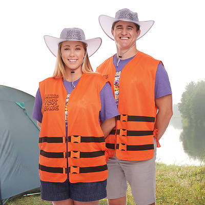 Vacation Bible School (VBS) 2018 Rolling River Rampage River Guide Life Vest