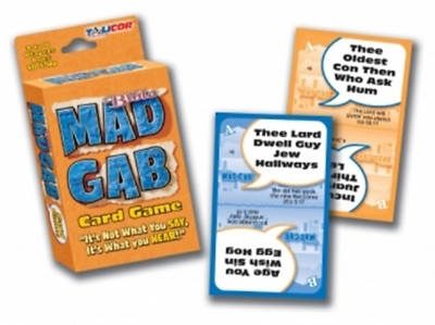 Picture of Bible Mad Gab Card Game