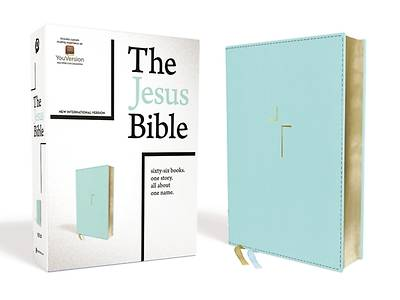 Picture of The Jesus Bible, NIV Edition, Leathersoft, Blue, Comfort Print
