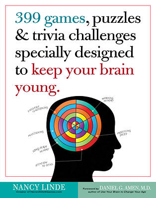 Picture of 399 Games, Puzzles & Trivia Challenges Specially Designed to Keep Your Brain Young