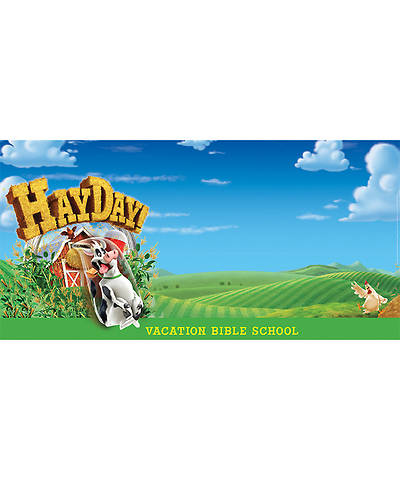 Group VBS 2013 Weekend HayDay Giant Outdoor Banner