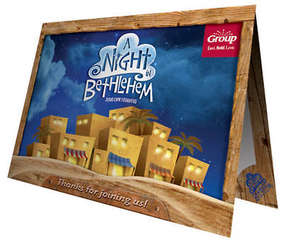 A Night In Bethlehem: Follow-Up Foto Frame (Pack of 10)