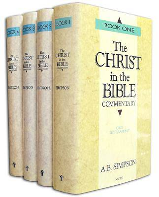 The Christ in the Bible Commentary 4 Volume Set