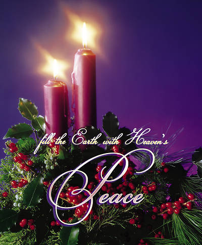 Advent Week 2, Peace Bulletin Large (Package of 100)