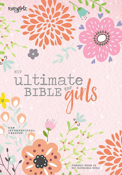 Picture of NIV Ultimate Bible for Girls, Hardcover
