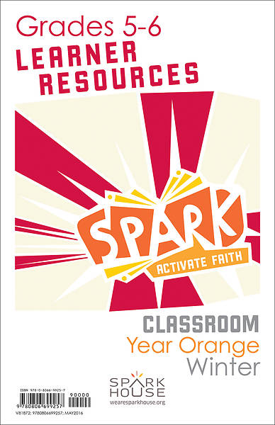Picture of Spark Classroom Grades 5-6 Learner Leaflet Year Orange Winter