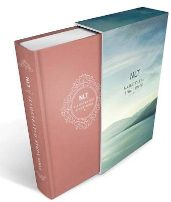 Illustrated Study Bible NLT, Deluxe Linen Edition