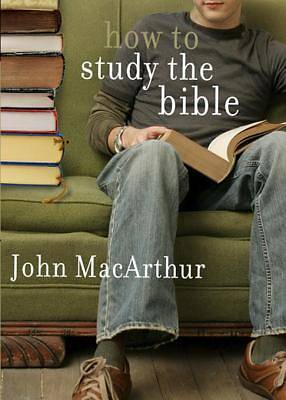 How to Study the Bible [ePub Ebook]