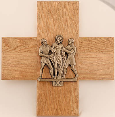 Picture of Koleys K378G 24K Gold Plated Cast Figures Stations of the Cross