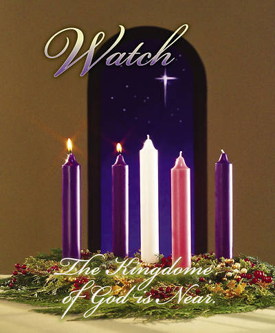 Advent Week 2/Watch Bulletin, Large (Package of 100)