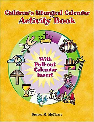 Picture of Childern's Liturgical Calendar Activity Book