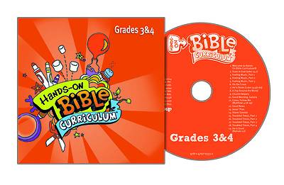 Picture of Hands-On Bible Curriculum Grades 3-4 CD Summer 2020