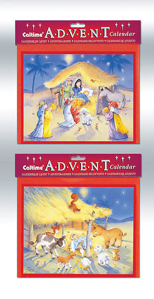 Cute Nativity Assortment Advent Calendars #CA425 [Pack of 12]