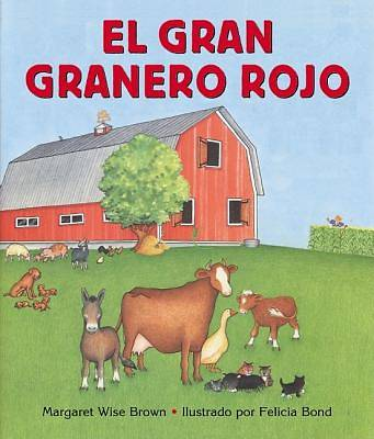 Picture of Big Red Barn (Spanish Edition)