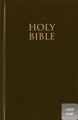 New International Version Church Bible, Large Print