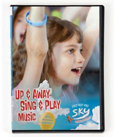 Group Vacation Bible School 2012 Sky Up & Away Sing & Play Music DVD