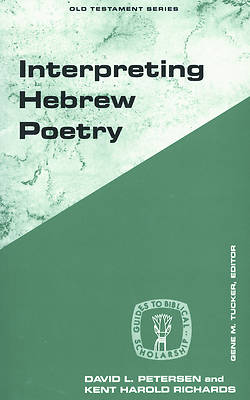 Picture of Interpreting Hebrew Poetry