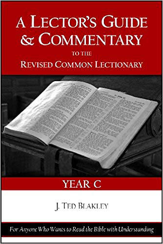 Picture of A Lectors Guide And Commentary to the Revised Common Lectionary (Year C)
