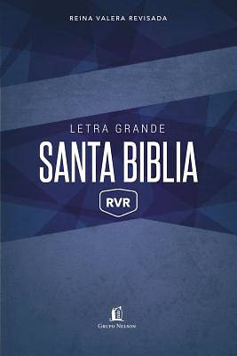 Picture of Biblia Reina Valera Revisada Letra Grande