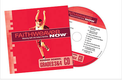Picture of FaithWeaver NOW Grades 3 & 4 CD Fall 2014