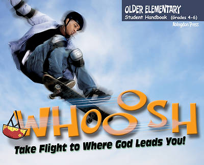 Picture of Vacation Bible School (VBS) 2019 WHOOOSH Older Elementary Student Handbook (Grades 4-6) (Pkg of 6)
