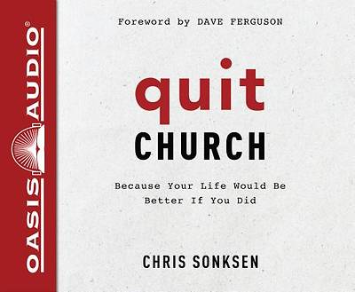 Picture of Quit Church (Library Edition)