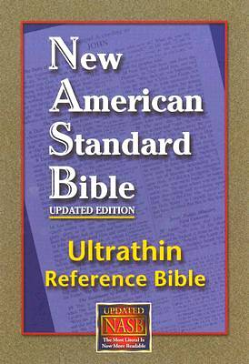 Picture of Bible-NASB Ultrathin Reference