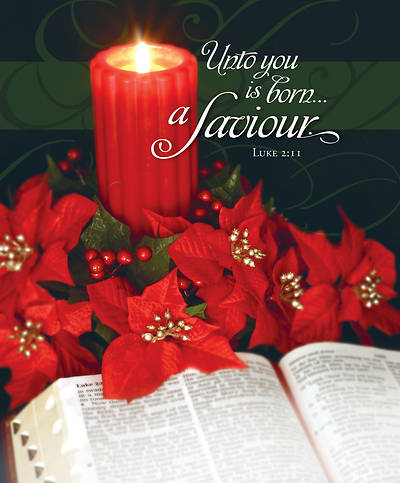 Picture of Unto You is Born a Saviour Christmas Legal Size Bulletin