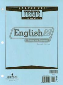 English Tests Answer Key Grd 2 2nd Edition