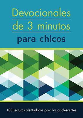 Picture of Devocionales de 3 Minutos Para Chicos