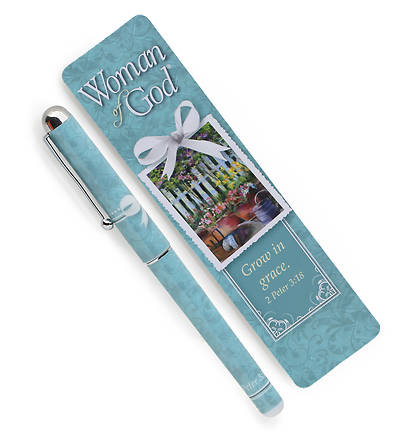Woman of God Pen & Bookmark Set