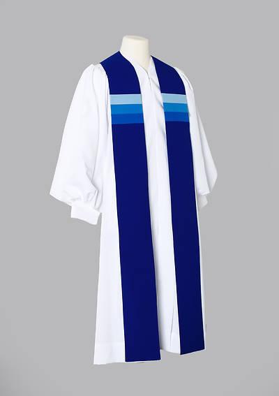 Picture of Triune Stripe Stole - Blue