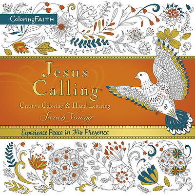 Picture of Jesus Calling Creative Coloring and Hand Lettering