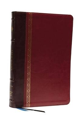 Picture of Nrsvce, Great Quotes Catholic Bible, Leathersoft, Burgundy, Comfort Print