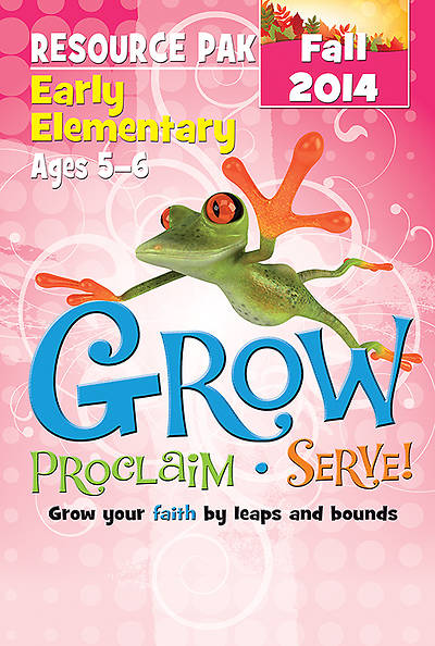 Picture of Grow, Proclaim, Serve! Early Elementary Resource Pak Fall 2014