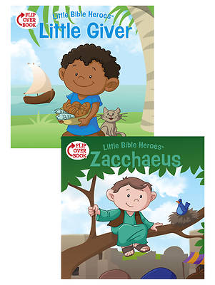 The Little Giver/Zacchaeus Flip-Over Book
