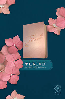 Picture of NLT Thrive Devotional Bible for Women (Leatherlike, Rose Metallic )