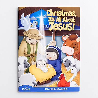 Picture of All About Jesus Activity Book