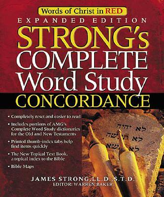 Strongs Complete Word Study Concordance Expanded Edition