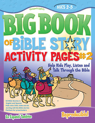 Picture of Big Book of Bible Story Activity Pages #2
