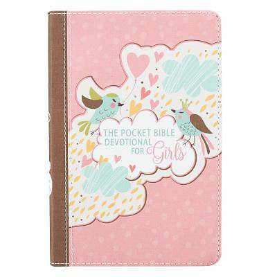 Picture of Pocket Bible Devotional Lux-Leather Girls